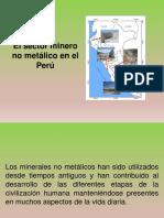 Minería No Metálico