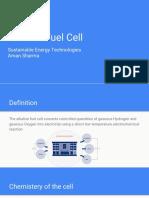 Alkaline Fuel Cells
