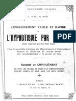 Jean Filiatre - L'Hypnotisme Par L'Image