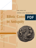 Ethnic Constructs in Antiquity