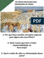 As Festas de Israel
