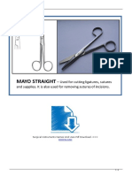 Surgical Instruments Names and Uses PDF Download