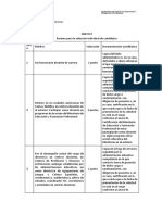 ANEXO II Documentación Acreditativa de Los Méritos Alegados