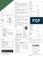 Casambi CBU TED Installationsanleitung
