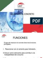 Clase 03 Agua para el Concreto.pdf
