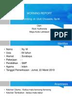 Morning Report Mata