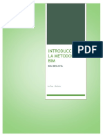 Introducción a La Metodología Bim Bim Bolivia