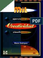 Mil ejercicios de creatividad clasificados - Mauro Rodríguez.pdf