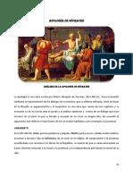 Análisis de La Apología de Sócrates