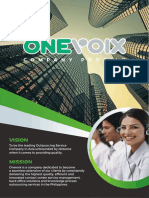 Onevoice Company Profile