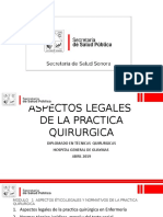 Aspectos Legales de La Practica Quirurgica