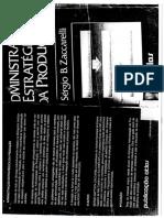 Livro Admistração Estratégica Da Produção