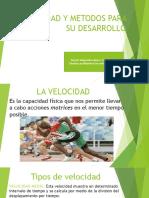 La Velocidad y Metodos para su Desarrollo - Daniel Castiblanco.pdf