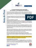 Nota de Prensa n183 2015 Inei