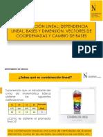Ppt 02b Combinación Lineal