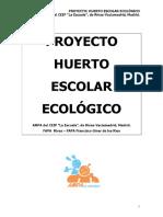 Apa Ceip La Escuela Proyecto de Huerto Escolar
