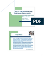 Finanzas Internacionales - Mba