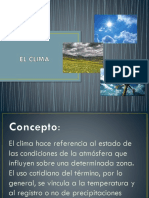 CLIMA  AGRICULTURA