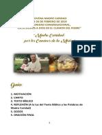 Folleto Novena - Por Los Caminos de La Mision Madre Caridad 2019 Novena