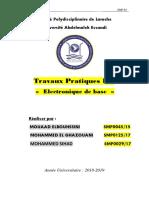 COMPTE RENDU Electronique 1
