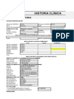 JOSE RENE SALAZAR MARTINEZ.Diseño del formato de la Historia Clínica