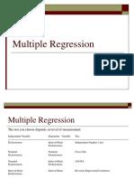 RzMultiple Regression