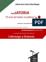 003 Oratoria Con Juan Vizcarra - Demostenes Ujcm 2018-II