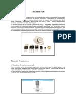 El Transistor y sus tipos