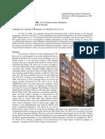 FW Devoe and Co Factory 110-112 Horatio Street LPC Report