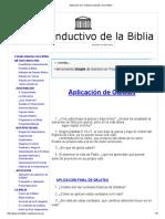 Aplicación Gá - Estudio Inductivo de La Biblia