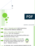 Bioética - Transplante e Doação de Orgãos (1)