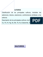 6º CLASE - SULFUROS.ppt