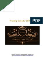 Public Trainng Calendar 2020 Kwt SMART VISION