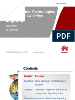 Solutions and Technologies for an NGN C4 Office Migration