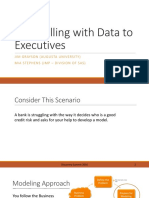 Storytelling With Data to Executives 09212016