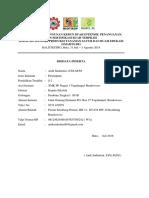 Form Biodata Peserta Pelatihan