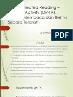 Teknik Directed Reading – Thinking Activity (DR-TA
