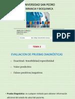 Tema 3 Pruebas Diagnosticas