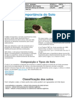 2019-0408 ---- 6º ANO ---- reforço ciencias - a importancia do solo