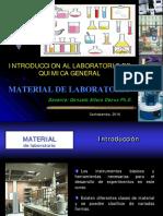 Material de Laboratorio Lab Qmc Gral Bio Ind I 2016