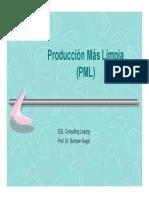 5.4.1 Produccion Mas Limpia