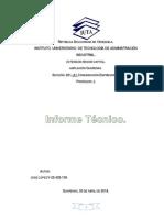 informe tecnico
