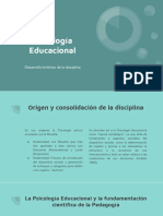 Psicología Educacional - Desarrollo Histórico de La Disciplina.