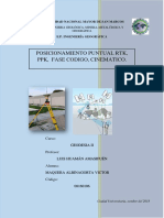 Informe Ppp Rtk Ppk-Albinagortamaquera