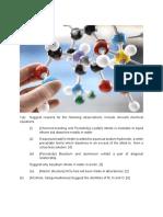 JC2 Chemistry Practice Paper - GCE A levels Chemistry 6092