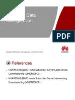 [Basic Training]HSS9820 Data Configuration ISSUE3.30