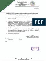 Dm No. 085 s. 2019 Submission of 2019 Brigada Eskwela Form 1 and Brigada Eswkela Form2
