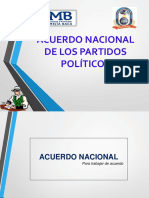Acuerdo Nacional Entorno Socio Politico Ppt