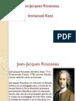 Jean Jacques Rousseau y Kant