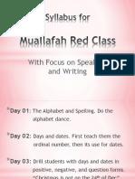 Red Syllabus